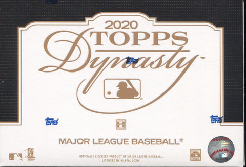 2020 Topps Dynasty Hobby Baseball, Box