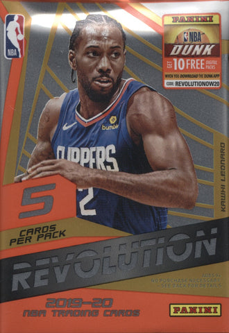 2019-20 Panini Revolution Basketball, Pack