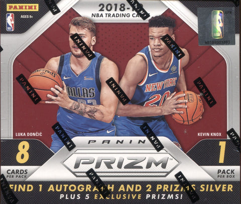 2018-19 Panini Prizm Choice Basketball, Box