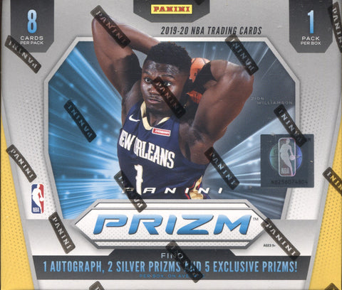 2019-20 Panini Prizm Choice Basketball, Box