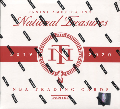 2019-20 Panini National Treasures Hobby Basketball, Box