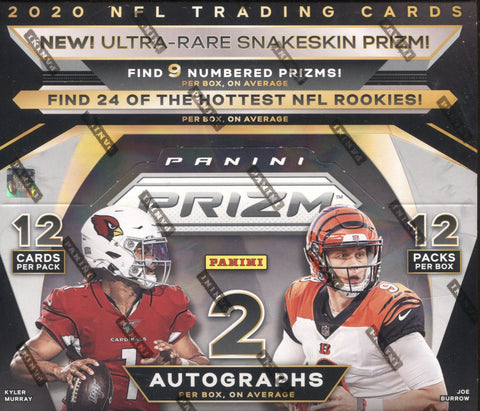 2020 Panini Prizm Hobby Football, Box