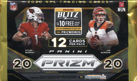 2020 Panini Prizm Hobby Football, Pack