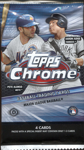 2020 Topps Chrome Hobby Baseball, Pack