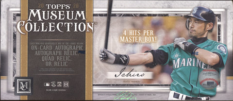 2020 Topps Museum Collection Baseball, Box