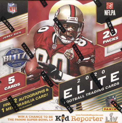 2020 Panini Donruss Elite Hobby Football, Box