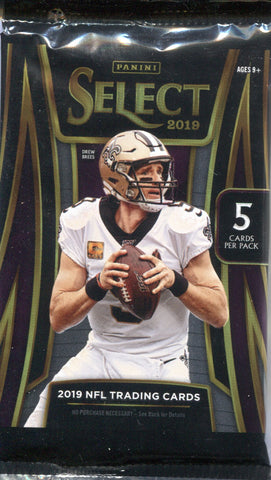 2019 Panini Select Hobby Football, Pack