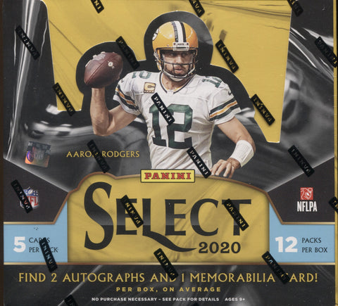 2020 Panini Select Hobby Football, Box