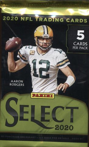 2020 Panini Select Hobby Football, Pack
