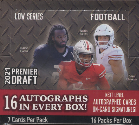 2021 Sage Premier Draft Low Series Football, Box