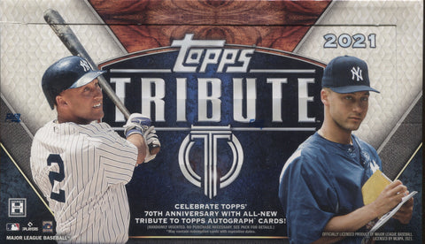 2021 Topps Tribute Baseball, Box
