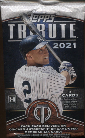 2021 Topps Tribute Baseball, Pack