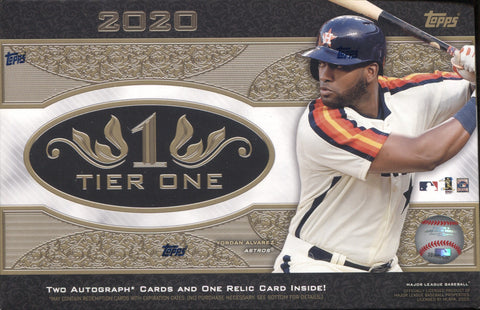 2020 Topps Tier One Hobby Baseball, Box