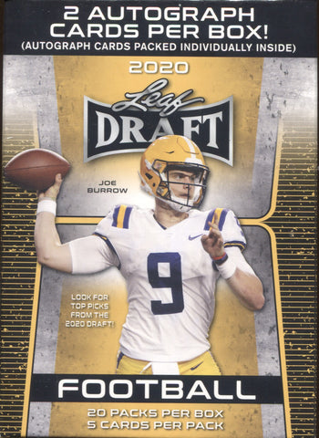 2020 Leaf Draft Football, Blaster Box