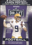 2020 Leaf Draft Hobby Premium Football, Blaster Box