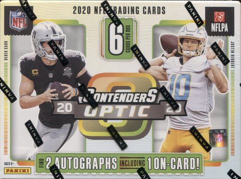 2020 Panini Contenders Optic Football, Box