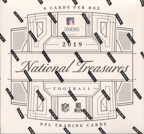 2019 Panini National Treasures Football, Box