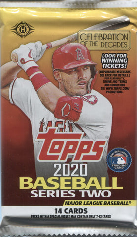 2020 Topps Series 2 Hobby Baseball, Pack