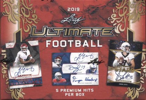 2019 Leaf Ultimate Hobby Football, Box