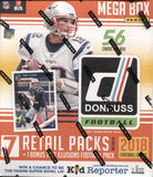 2018 Panini Donruss Mega Football, Box