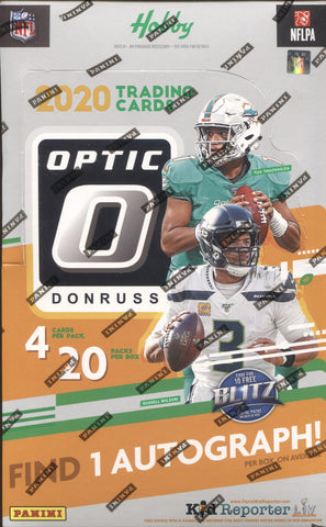 2020 Panini Optic Hobby Football, Box