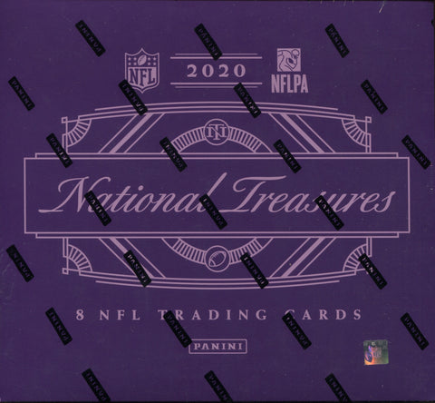 2020 Panini National Treasures Football, Box