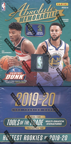 2019-20 Panini Absolute Hobby Basketball, Box