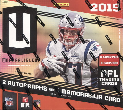 2019 Panini Unparalleled Football, Box