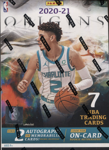 2020-21 Panini Origins Hobby Basketball, Box