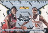 2019-20 Panini Certified Hobby Basketball, Box