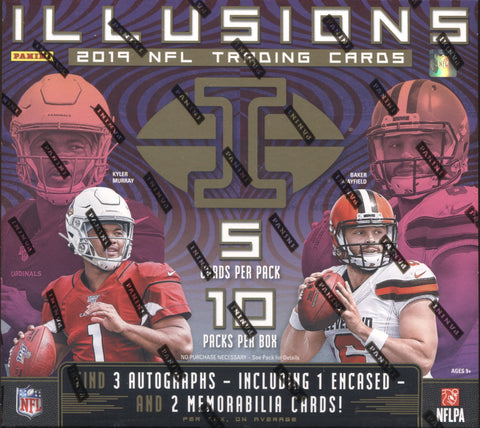 2019 Panini Illusions Football, Box