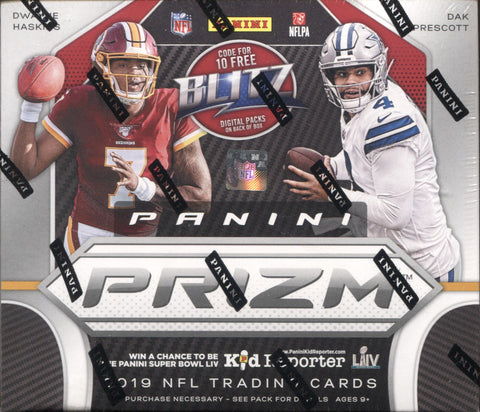 2019 Panini Prizm FOTL Football, Box