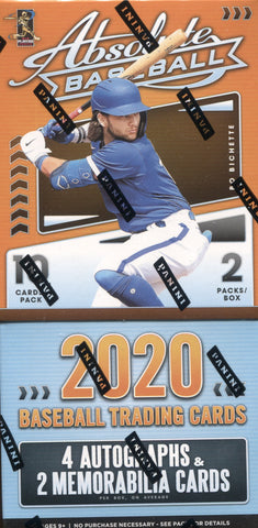 2020 Panini Absolute Hobby Baseball, Box