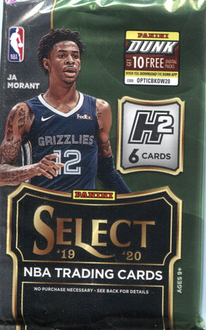 2019-20 Panini Select Hybrid Basketball, Pack