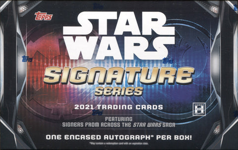 2021 Topps Star Wars Signature Series, Box
