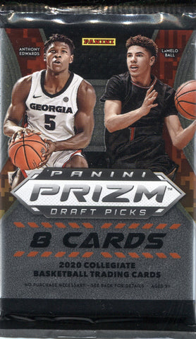 2020-21 Panini Prizm Draft Picks Hobby Basketball, Pack