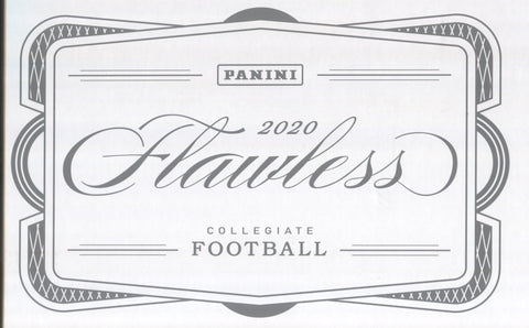 2020 Panini Flawless Collegiate Football, Box