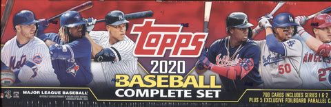 2020 Topps Compete Factory Set Hobby Baseball, Box