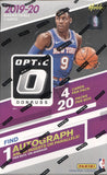 2019-20 Panini Donruss Optic Hobby Basketball, Box