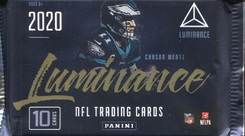 2020 Panini Luminance Hobby Football, Pack
