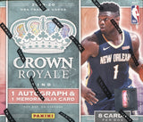 2019-20 Panini Crown Royale Basketball, Box