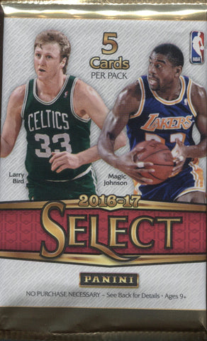 2016-17 Panini Select Hobby Basketball, Pack