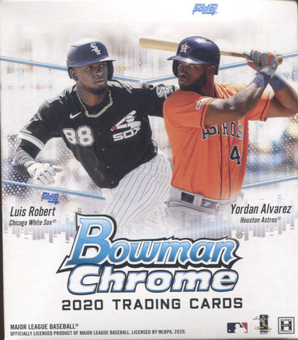 2020 Bowman Chrome Hobby Baseball, Mini-Box