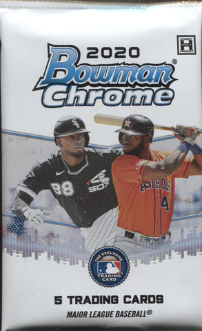 2020 Bowman Chrome Hobby Baseball, Pack
