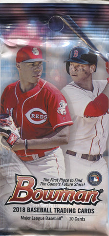 2018 Topps Bowman Retail Baseball, Pack