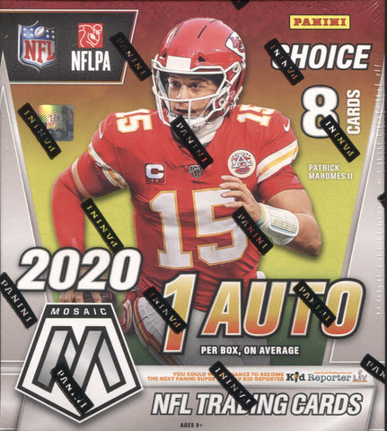 2020 Panini Mosaic Choice Football, Box