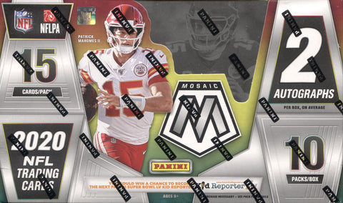 2020 Panini Mosaic Hobby Football, Box