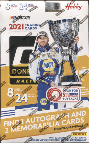 2021 Panini Donruss Hobby Racing, Box