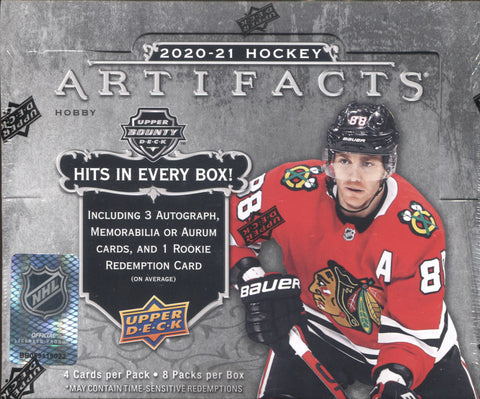 2020-21 Upper Deck Artifacts Hockey, Box