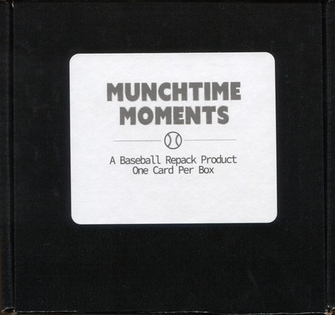 2021 Munchtime Moments Baseball, Box